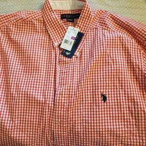 NWT U.S.Polo Assn Men's SL Shirt